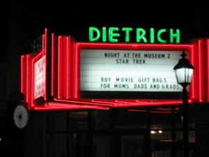 Dietrich theater in Tunkhannock, PA