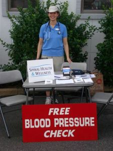 Blood Pressure Screenings at Charlottesville's City Market