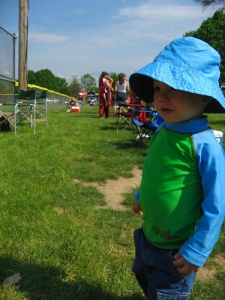 UV Skinz at softball game