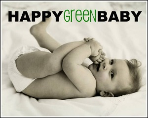 Happy Green Baby