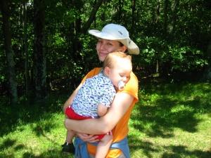 End of the Hike in Shenandoah National Park