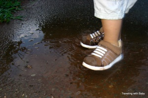 TwB puddle shoes
