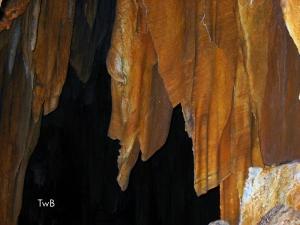 Stone drapes