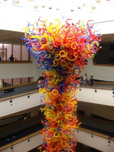 Dale Chihuly blown glass sculpture in Indianapolis