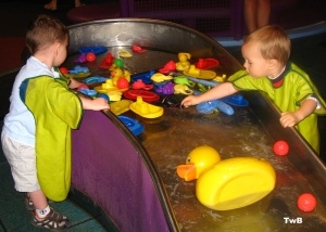 Water fun at the Children's Museum