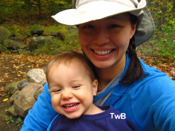 Camping Calvin & Mommy TwB