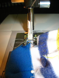 sewing sock heel TwB