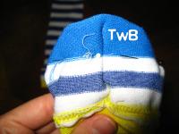 Sock heel TwB